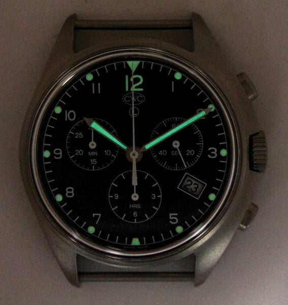 CWC QUARTZ CHRONOGRAPH WATCH - GLOW