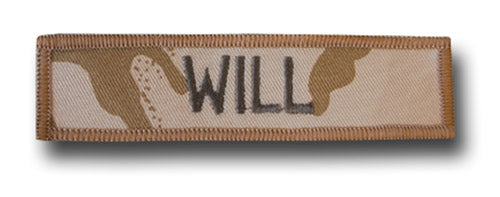 SET OF 6 DESERT NAME TAPES