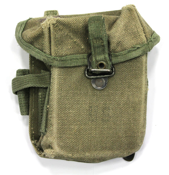 M16 CANVAS USA AMMO CASE USED