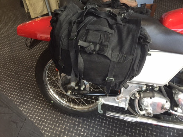 blackcanvas motorcycle panniers