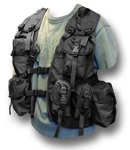ASSAULT COMBAT VEST 95 - BLACK