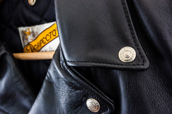 PERFECTO 618 MOTORCYCLE JACKET - BUTTONS