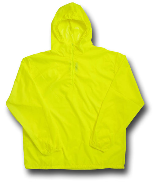 ARKTIS ZIP NECK WINDSHIRT - HI-VIS YELLOW