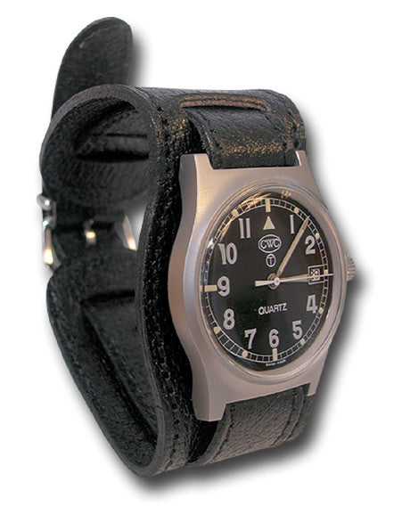 MILITARY LEATHER WATCH STRAP