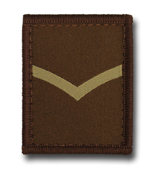 VELCRO COMBAT RANK PATCHES