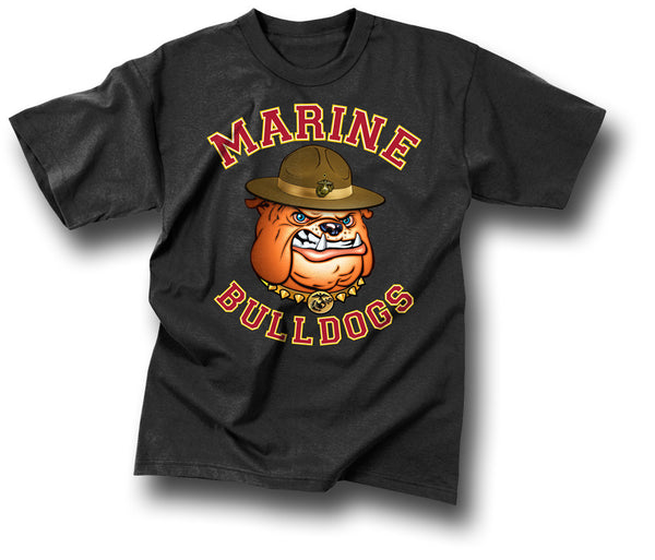 BULLDOG MARINES T-SHIRT - Silvermans  - 2