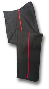 NO.1 TROUSERS THIN RED STRIPE - Silvermans  - 2