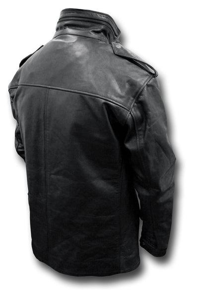 GTH LEATHER M65 JACKET - BACK