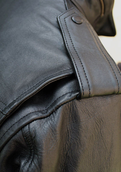 GTH LEATHER M65 JACKET - SHOULDER