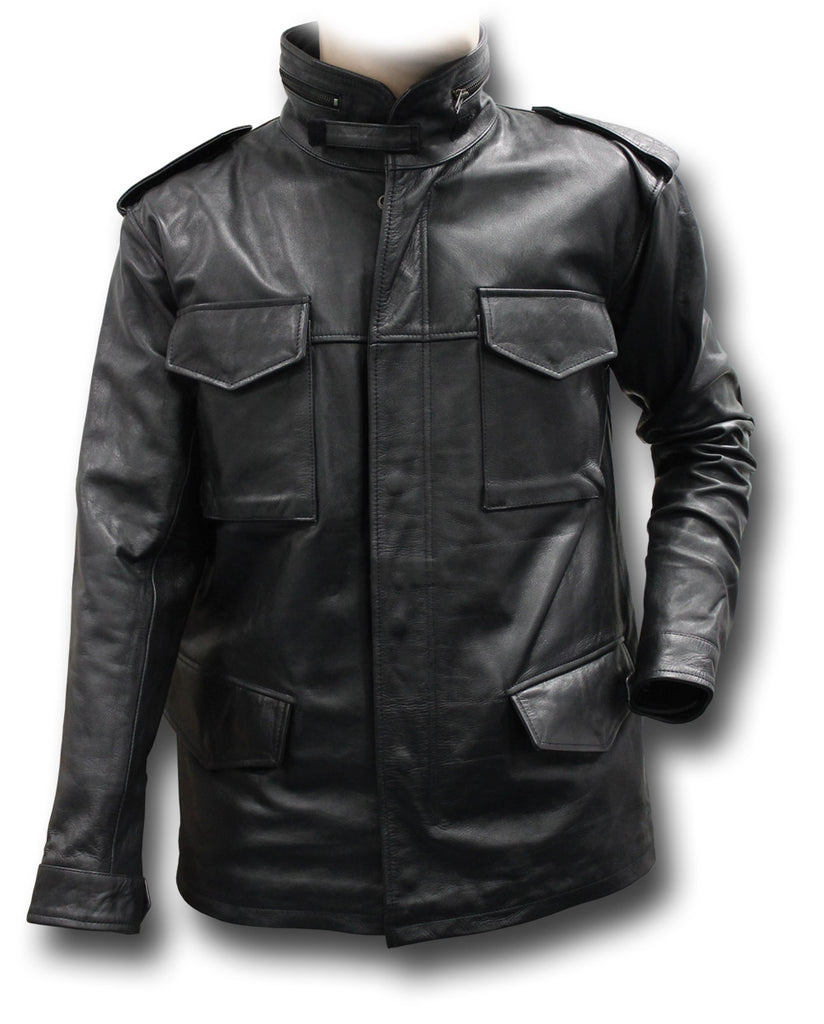 Gth Leather M65 Jacket Silvermans