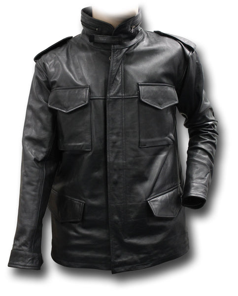GTH LEATHER M65 JACKET