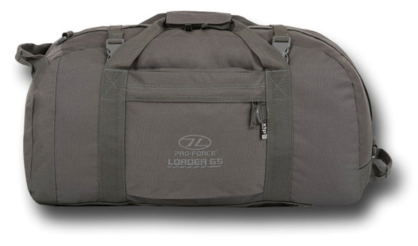HIGHLANDER LOADER HOLDALL - GREY