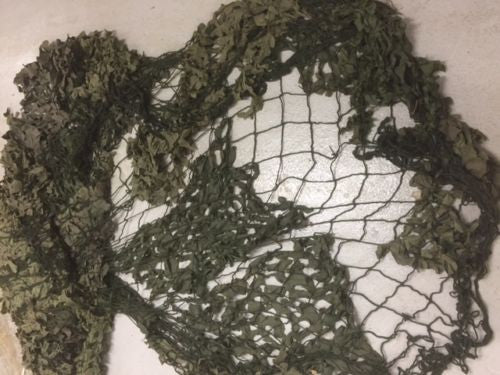 USED 6'x6' ARMY CAMMO NET - Silvermans