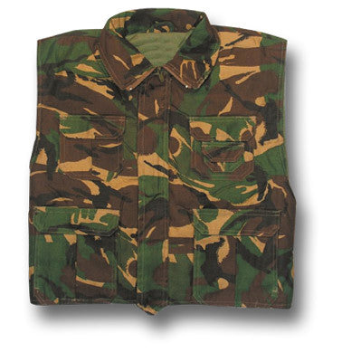 KIDS UNLINED RANGER VEST DPM - Silvermans  - 2