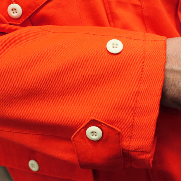 COPY SAS 1940 SMOCK - ORANGE - BUTTONS