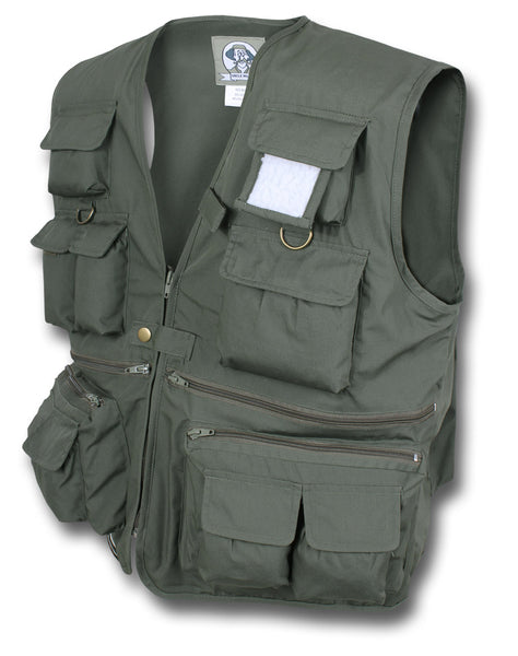MILTY TRAVEL HUNTING VEST - OLIVE GREEN