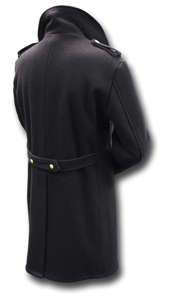 USA WOOL BRIDGE COAT - Silvermans  - 2