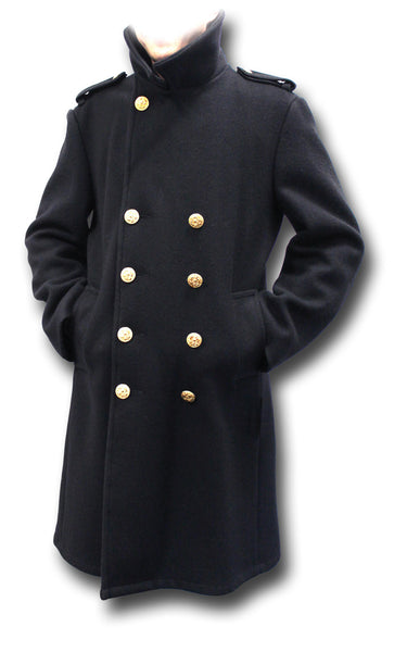 USA WOOL BRIDGE COAT - Silvermans  - 4