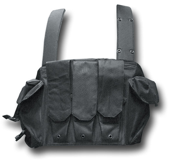 COMBAT 95 CHEST RIG BLACK - Silvermans  - 3