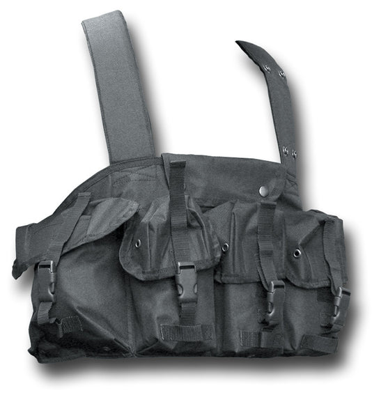 COMBAT 95 CHEST RIG BLACK - Silvermans  - 4