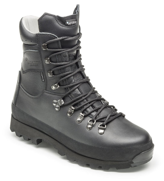 ALTBERG WARRIOR BOOTS BLACK - AQUA