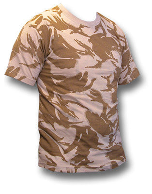 BRITISH DESERT T-SHIRT - Silvermans  - 2