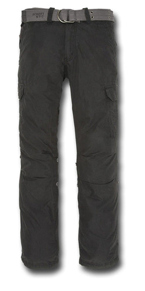 SCHOTT CARGO PANTS - BLACK