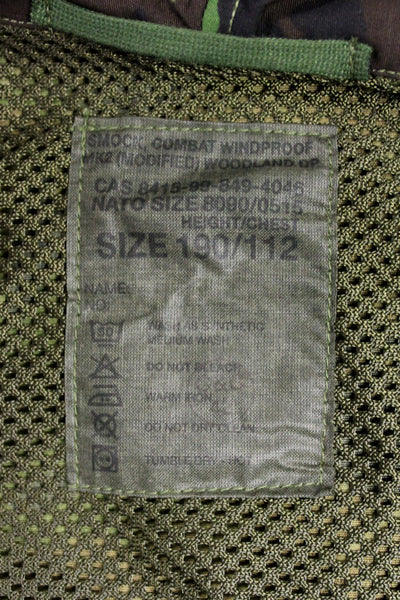 COMBAT WINDPROOF MK2 SMOCK - LABEL