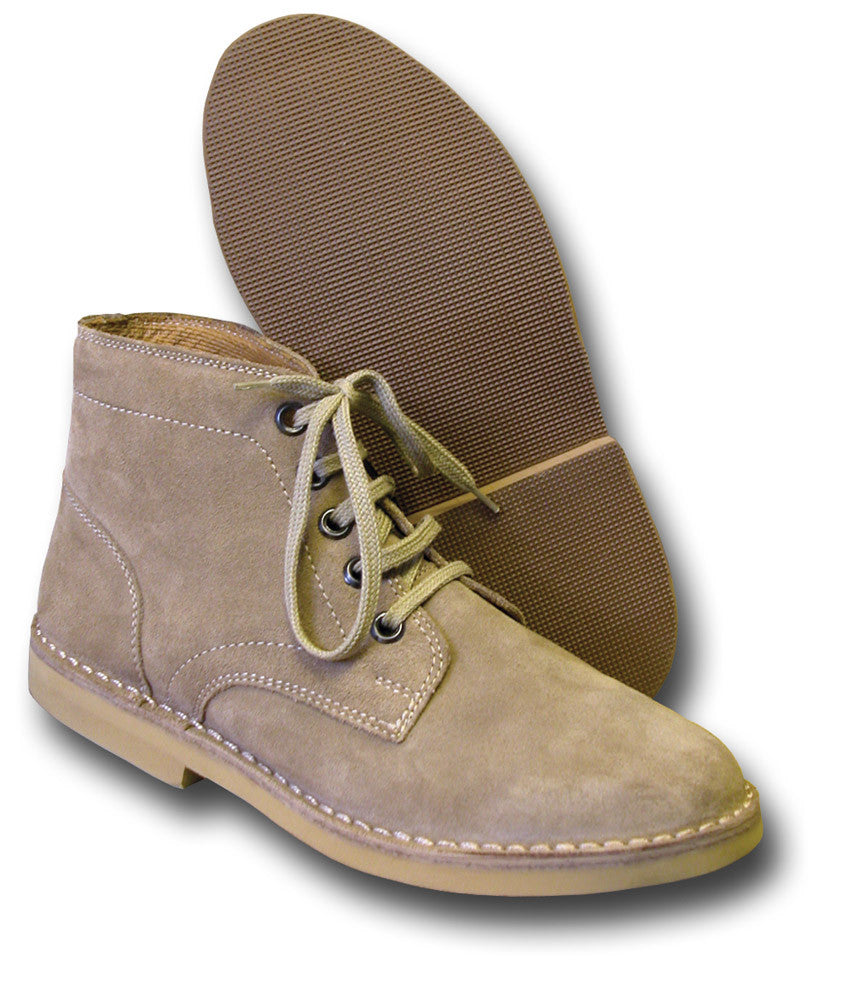 Classic Suede Desert Boots Silvermans