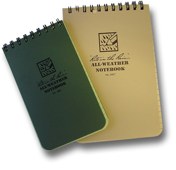 ALL WEATHER NOTEBOOK - Silvermans  - 2