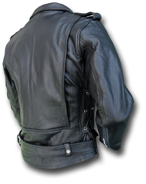 E1 HIGHWAY LEATHER JACKET - Silvermans  - 2