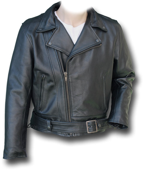 CHIPS LEATHER JACKET - Silvermans  - 2