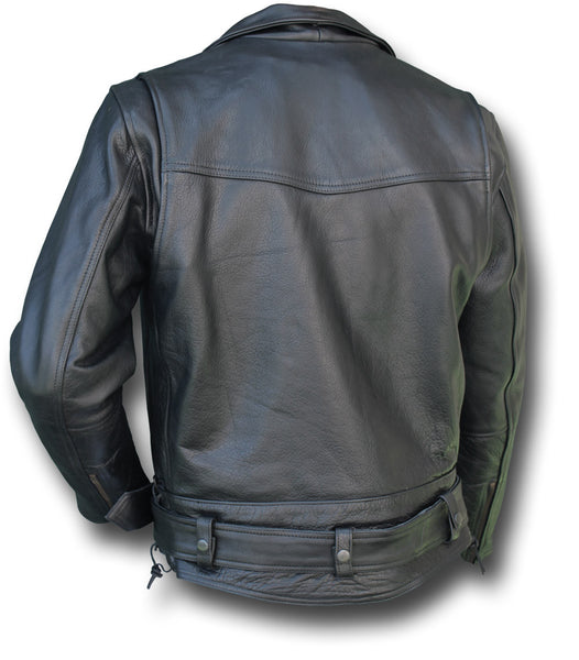 CHIPS LEATHER JACKET - Silvermans  - 3