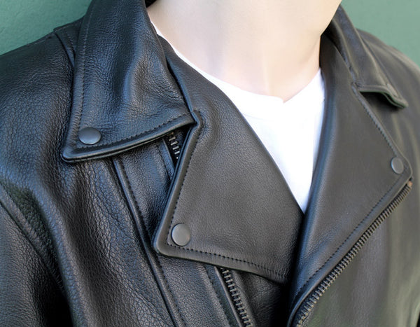 CHIPS LEATHER JACKET - Silvermans  - 4