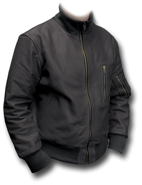 GERMAN LUFTWAFFE FLIGHT JACKET - BLACK