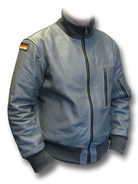 GERMAN LUFTWAFFE FLIGHT JACKET - GREY