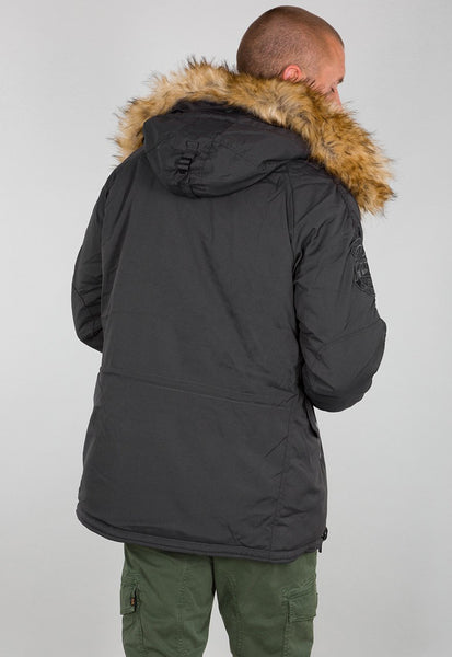 ALPHA EXPLORER PARKA - BLACK
