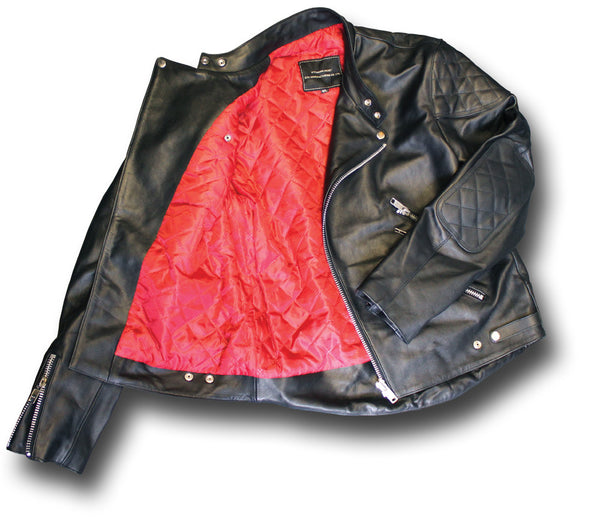 GTH MANX LEATHER JACKET - Silvermans  - 2
