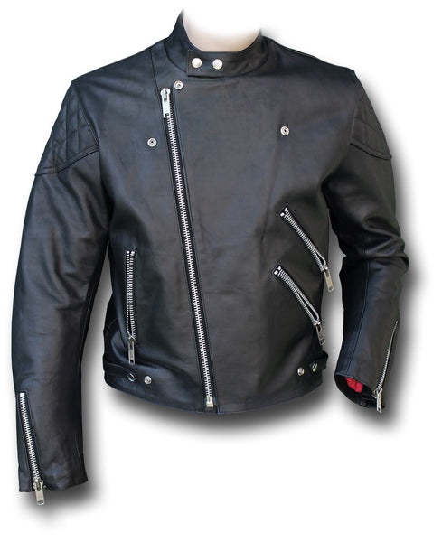 GTH MANX LEATHER JACKET - Silvermans  - 3
