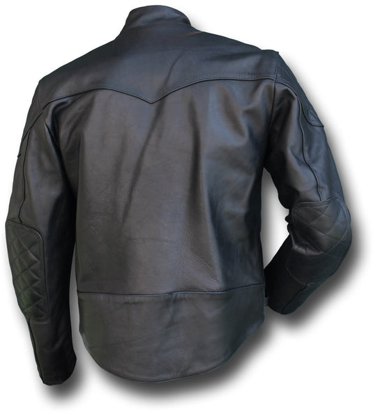 GTH MANX LEATHER JACKET - Silvermans  - 4