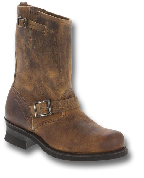 FRYE ENGINEER 12R BOOTS BROWN