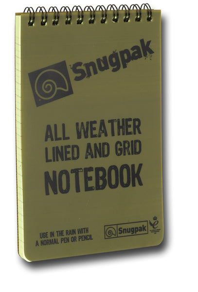 SNUGPAK NOTEBOOK 4x6 - Silvermans  - 1