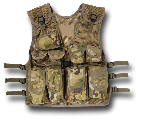 KIDS ASSAULT VEST - MULTI-TERRAIN