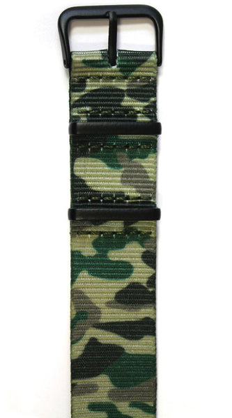 NATO STYLE WATCH STRAP - CAMMO