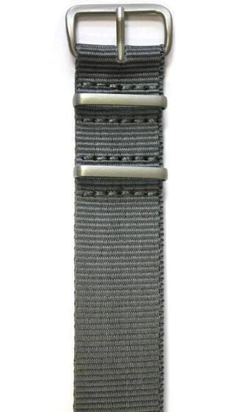 NATO STYLE WATCH STRAP - GREY