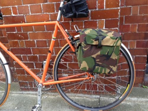 CAMOUFLAGE MOTORCYCLE PANNIERS - Silvermans  - 5