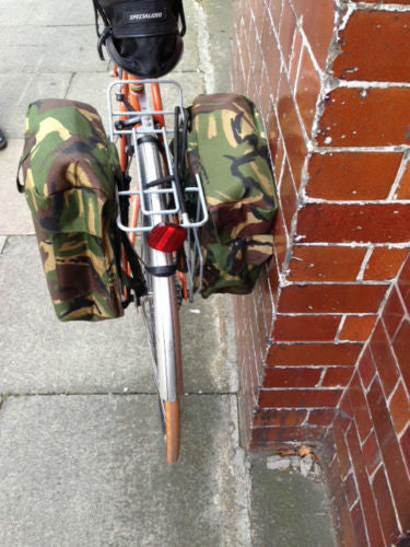 CAMOUFLAGE MOTORCYCLE PANNIERS - Silvermans  - 6