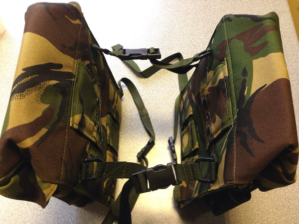 CAMOUFLAGE MOTORCYCLE PANNIERS - Silvermans  - 9
