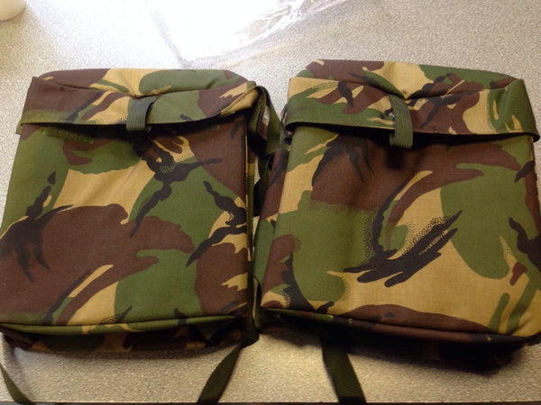 CAMOUFLAGE MOTORCYCLE PANNIERS - Silvermans  - 1