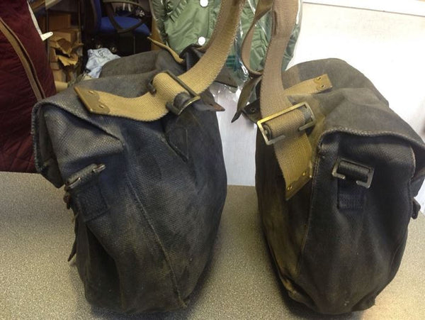 WWII BLACK PANNIERS MEDIUM GR1 - Silvermans  - 4